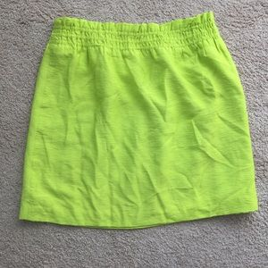 J Crew Crinkle City Mini Skirt Size 6 Sidewalk